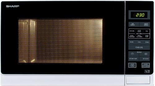 Sharp R-372(W)M Countertop 25L 900W White