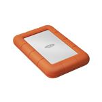 LaCie Rugged Mini 1000GB Orange,Silver external hard drive
