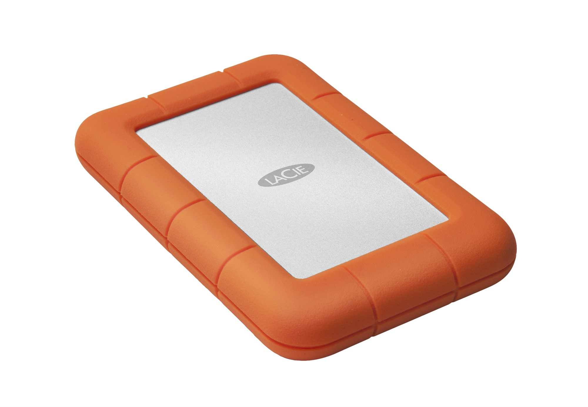 LaCie Rugged Mini 1000GB Orange,Silver external hard drive