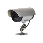 Proper Dummy Security Camera Black,Metallic Bullet