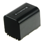 2-Power Camcorder Battery 7.2v 1620mAh