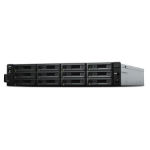 Synology RackStation RS2418+ data-opslag-server NAS Rack (2U) Ethernet LAN Zwart, Grijs C3538