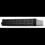 Synology RackStation RS2418+ data-opslag-server NAS Rack (2U) Ethernet LAN Zwart, Grijs C3538
