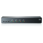 Hewlett Packard Enterprise AF611A Rack mounting Black KVM switch