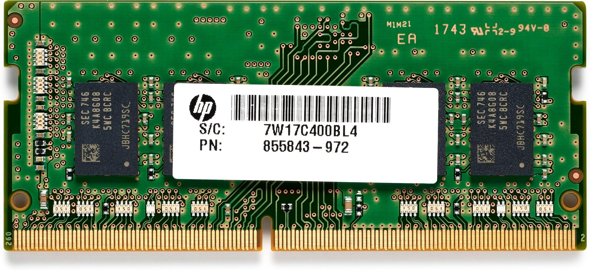 HP 3TQ35AA módulo de memoria 8 GB 1 x 8 GB DDR4 2666 MHz