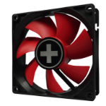 Xilence XPF120.R.PWM Computer case Fan 12 cm Black, Red