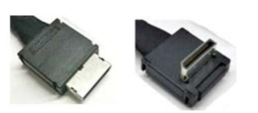Intel AXXCBL470CVCR adaptador de cable OCuLink SFF-8611 Negro