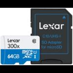 Lexar 64GB microSDXC 64GB MicroSDXC UHS-I Class 10 memory card