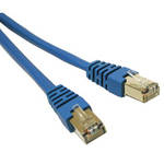 C2G 50m Shielded Cat5e Moulded Patch Cable networking cable Blue