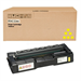 Ricoh 407719 Toner yellow, 6K pages