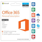 Microsoft Office 365 Personal 1 Year Subscription Medialess 1 User 2019 Edition for PC and Mac. (Replace SMSOP