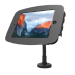 Maclocks iPad Secure Space Enclosure with Flex Arm Kiosk Black - Mounting kit - desk stand, anti-theft enclosure - Stand Only Screen Not Included.