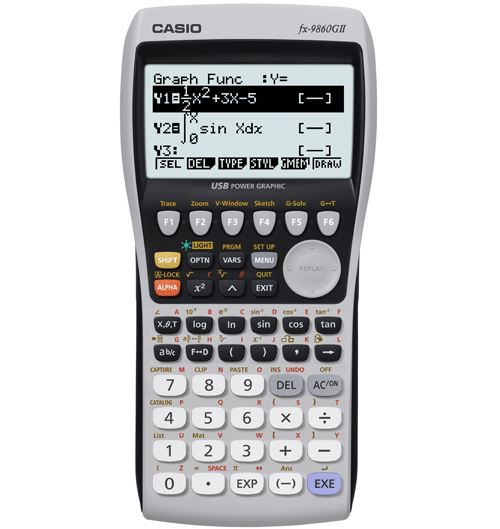 Graphic Calculator (fx-9860gii-s-uh)