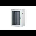 Digitus DN-19 22U-8/8-1 rack cabinet Freestanding rack White