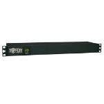 Tripp Lite 1.92kW Single-Phase Metered PDU, 120V (12 5-15/20R), L5-20P / 5-20P, 110-127V Input, 15ft Cord, 1U Rack-Mount
