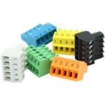 Brainboxes MK-588 terminal block Black, Blue, Green, Gray, Orange, Yellow