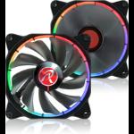 RAIJINTEK AURA 12 RGB Computer case Fan 12 cm 1 pc(s) Black