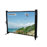 Celexon - Table Top Screen - 102cm x 76cm - 4:3 - Super Portable Screen
