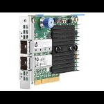 Hewlett Packard Enterprise Ethernet 10Gb 2-port 546FLR-SFP+ Internal Fiber 10000Mbit/s networking card