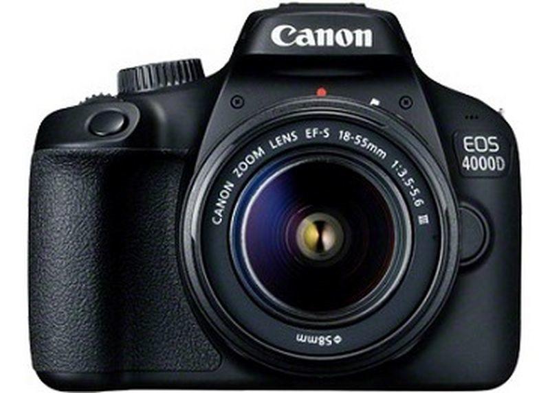 Digital Camera Eos 4000d + Ef-s 18-55 Dc III