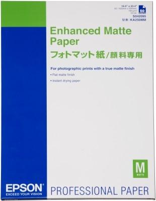 Epson Enhanced Matte Paper, DIN A2, 192g/m², 50 Sheets