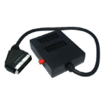 Cables Direct 1SB2S video splitter SCART