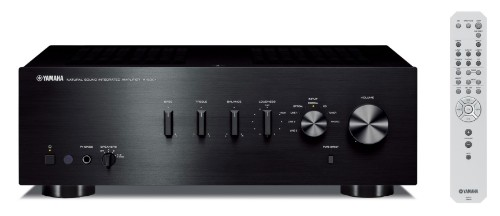 Yamaha A-S301 audio amplifier 2.0 channels Home Black