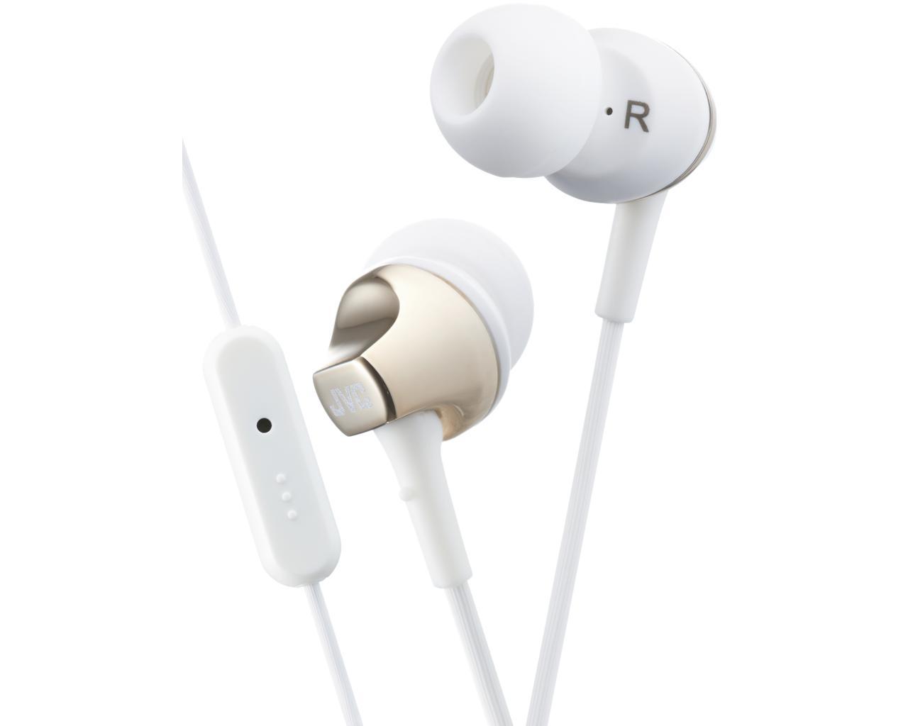 JVC HA-FR325-N-E Inner ear headphones with remote & mic