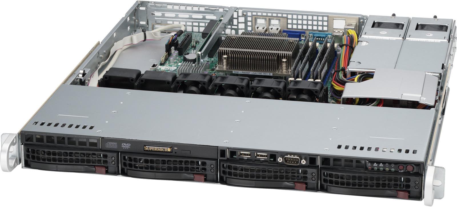 Ernitec 1U Rack Server