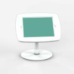 Bouncepad Counter Flex | Apple iPad Mini 4/5 Gen 7.9 (2015 - 2019) | White | Exposed Front Camera and Home Button |