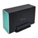 """i-tec CAMYSAFEDUAL35 caja para disco duro externo 3.5"""" Caja de disco duro (HDD) Negro"""