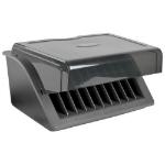 Tripp Lite CSD1006USB charging station organizer Desktop mounted Black