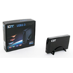 "CIT 3.5"" USB 2.0 SATA/IDE HDD ENCLOSURE"