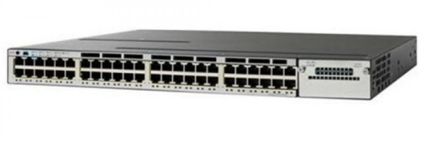 Cisco Catalyst WS-C3850-48F-E Managed Power over Ethernet (PoE) Black,Grey network switch