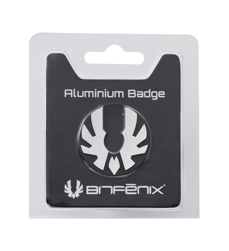 BitFenix BFC-PRO-300-SLOG-RP identity badge/badge holder Aluminium 1 pc(s)