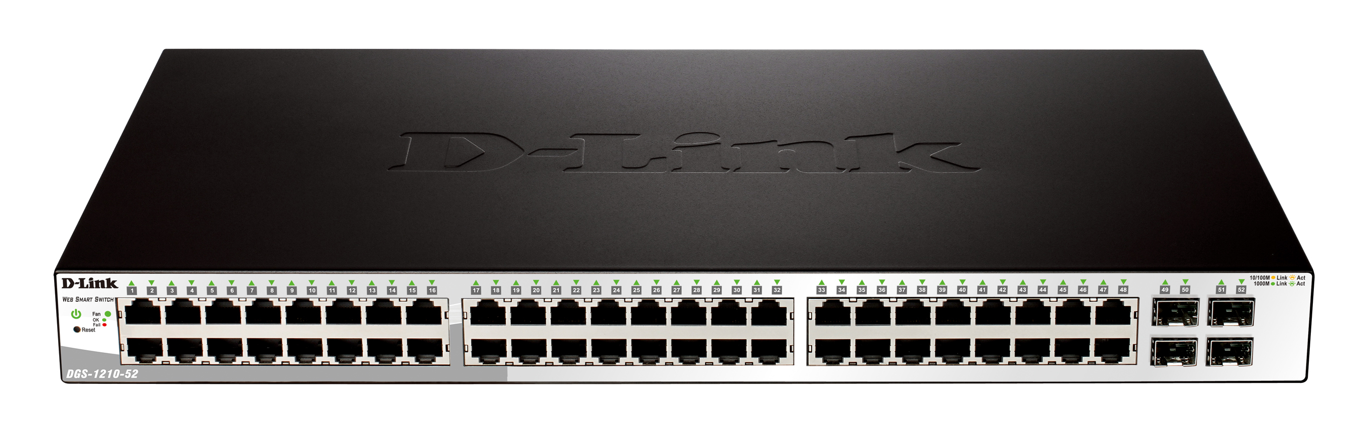 D-Link DGS-1210-52P network switch