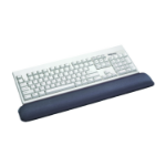 Fellowes 91737 wrist rest Gel, Polyurethane Graphite