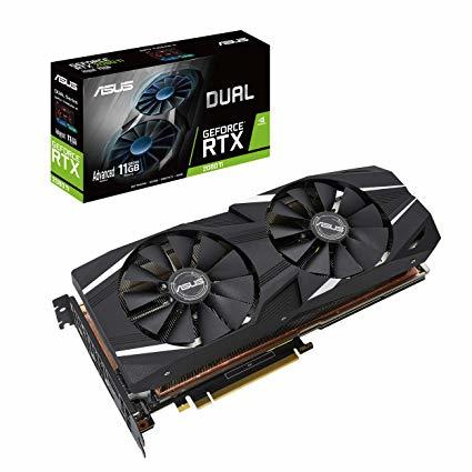 ASUS DUAL-RTX2080TI-A11G GeForce RTX 2080 Ti 11 GB GDDR6