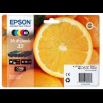 Epson C13T33374011 (33) Ink cartridge multi pack, 6,4ml+4x4,5ml, Pack qty 5