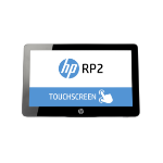 """HP rp 2030 All-in-One 2.41 GHz J2900 35.6 cm (14"""") 1366 x 768 pixels Touchscreen Black"""