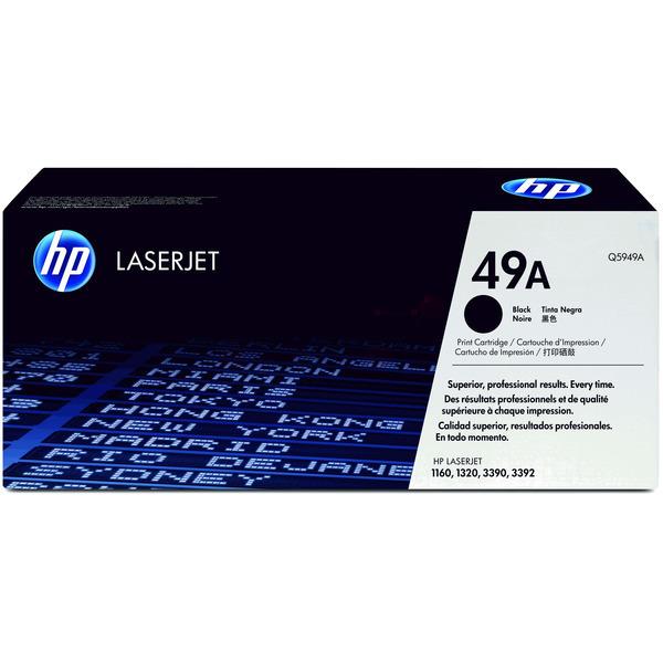 HP Q5949A (49A) Toner black, 2.5K pages