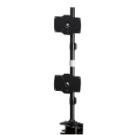 "Amer AMR2C32V 32"" Clamp Black flat panel desk mount"