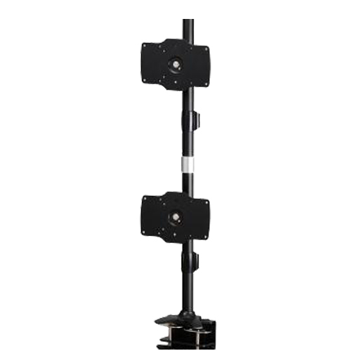 Dual Monitor Vertical Clamp Mount Max32in