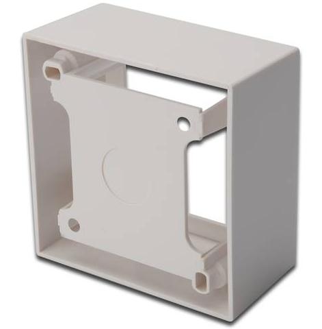 Digitus DN-93804 Type E (FR) White outlet box