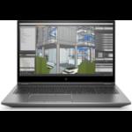 "HP ZBook Fury 15 G7 Mobile workstation 39.6 cm (15.6"") Full HD 10th gen Intel® Core™ i7 16 GB DDR4-SDRAM 512 GB SSD NVIDIA Quadro T2000 Wi-Fi 6 (802.11ax) Windows 10 Pro for Workstations Silver"