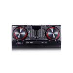 LG CJ45 Home audio midi system Black,Red home audio set