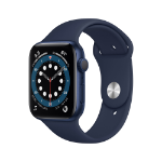 Apple Watch Series 6 OLED 44 mm Azul GPS (satélite)