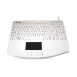 Accuratus KYBNA-SIL540CV2W USB QWERTY English White keyboard