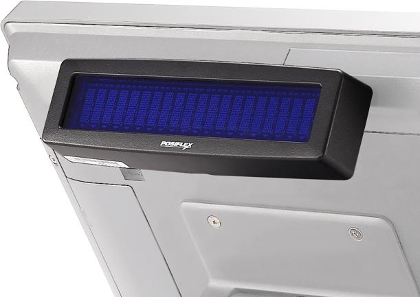 Posiflex PD-2608UE-B 2x20 Line VFD Cust