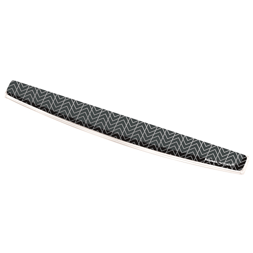 Fellowes 9653601 wrist rest Gel Black, Grey